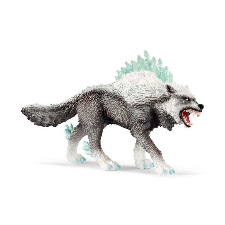 Schleich Hand Painted Figure - Snow Wolf