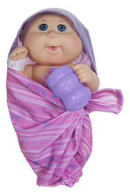 Cabbage Patch Kids First Cuddles Newborn - 11 inch doll with Pink Blanket