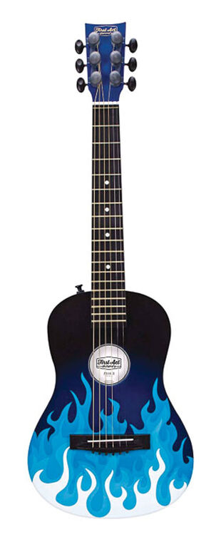 "First Act 30"" Blue Flames Acoustic Guitar"