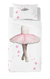 Gouchee Design - Ballerina Digital Print Twin Duvet Cover Set