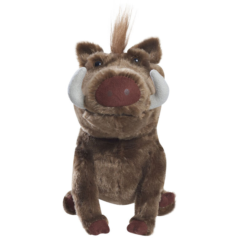 Lion King Live Action Small Plush with Sound - Pumbaa