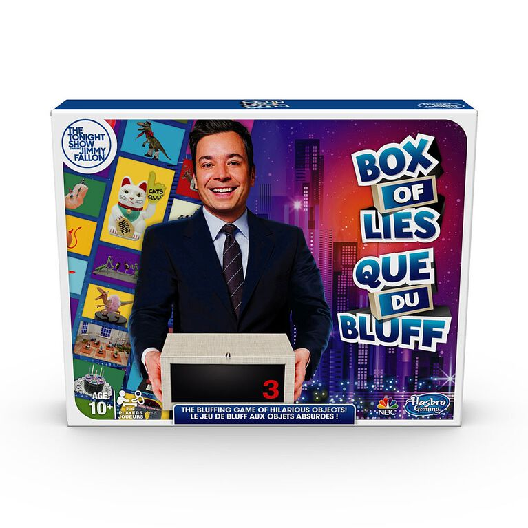 Hasbro Gaming - Jeu Que du bluff de The Tonight Show Starring Jimmy Fallon