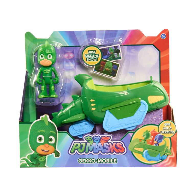 PJ Masks Vehicle - Gekko and Gekko-Mobile