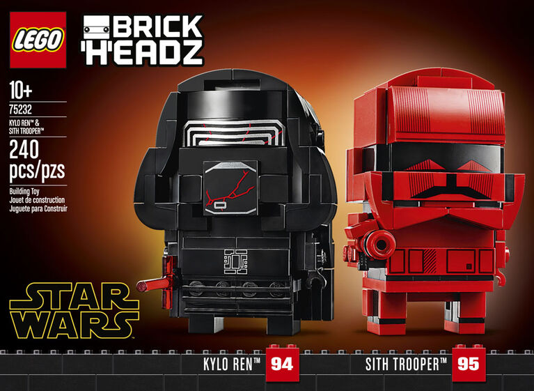 LEGO Star Wars  Kylo Ren  & Sith Trooper  75232