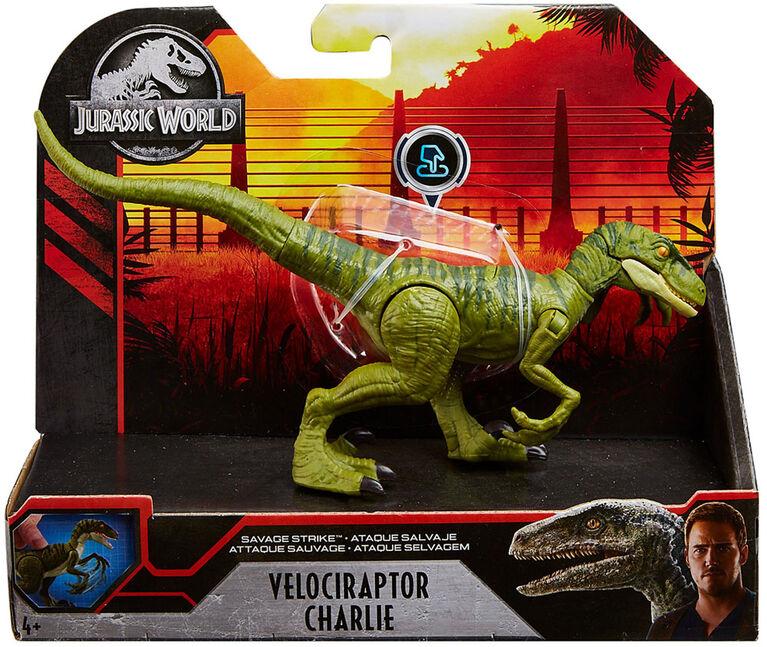 Jurassic World Savage Strike Velociraptor