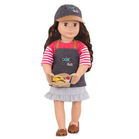Our Generation, Rayna, 18-inch Posable Food Truck Doll