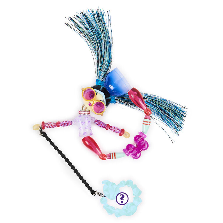 Twisty Girlz, Beadbox Betty Transforming Doll to Collectible Bracelet with Mystery Twisty Petz
