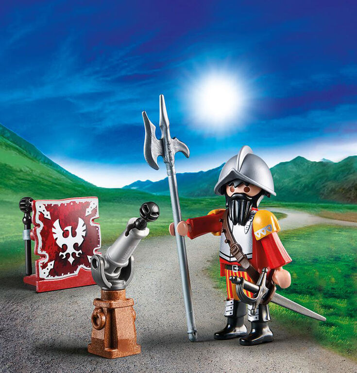 Playmobil Knight with cannon 70086