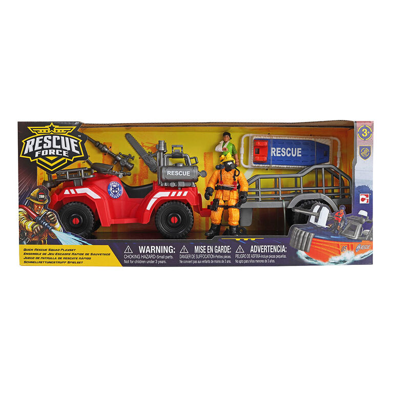 Rescue Force - Rescue Squad 4X4 - R Exclusive