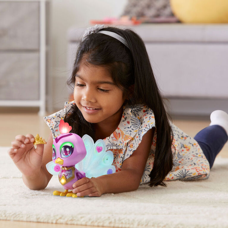 VTech Myla's Sparkling Friends Penny the Peacock - English Edition