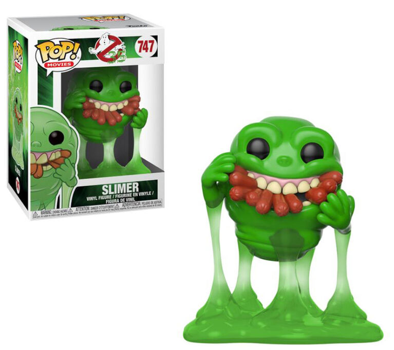 Funko POP! Movies: Ghostbusters - Slimer with Hot Dogs Vinyl Figure