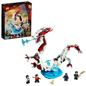 LEGO Super Heroes Battle at the Ancient Village​ 76177