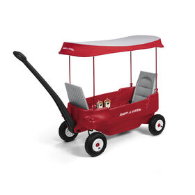 Radio Flyer - Deluxe All-Terrain Pathfinder Wagon - Red - R Exclusive