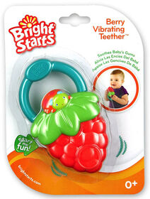 Bright Starts Fruit Vibes Teether - Strawberry