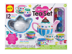 Paint A Ceramic Tea Set  029170