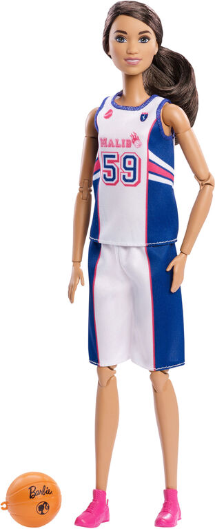 Barbie Made to Move Basketball Player Doll