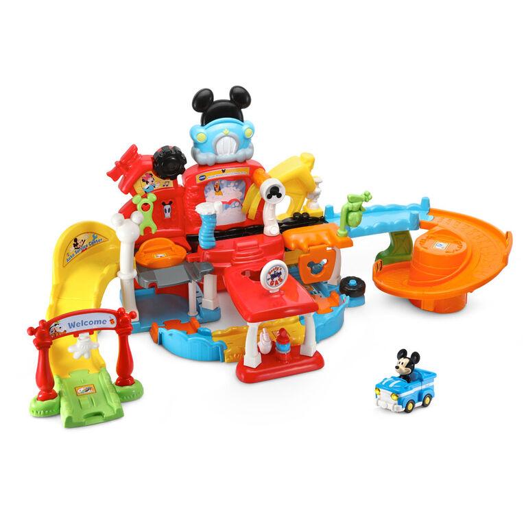 VTech Go! Go! Smart Wheels - Disney Mickey Mouse Gas & Go Repair Shop - Édition anglaise