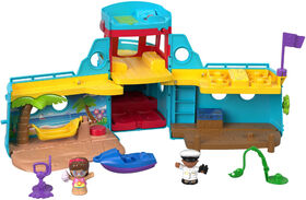 Fisher-Price - Little People - Bateau de l'amitié - Édition bilingue