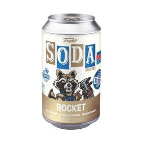 Vinyl SODA: Marvel- Rocket Raccoon - Available Online Only