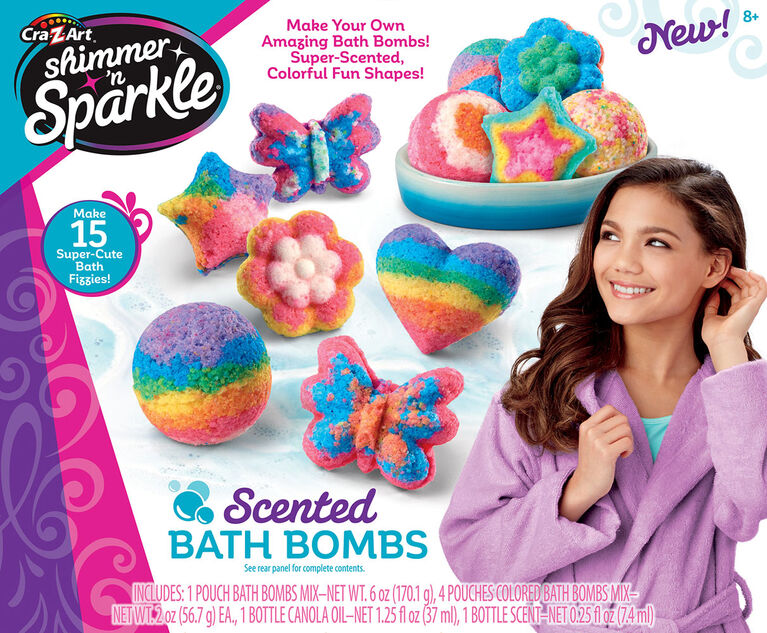 Shimmer ''''n Sparkle Make Your Own Scented  Bath Bombs