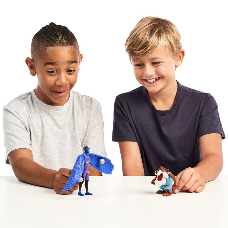 Duo De Figurines Space Jam : Nouvelle Ère S1 - Taz Et The Brow