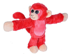 Red Monkey Huggers snap bracelet