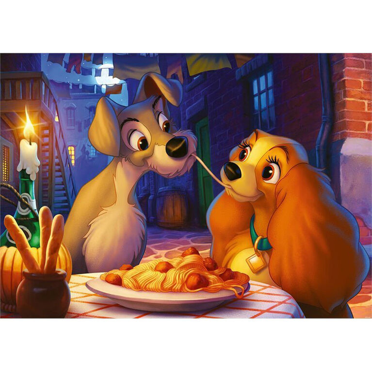 Ravensburger: Disney Collector Lady and the Tramp 1000 PC Puzzle