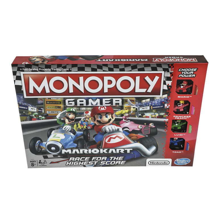 Hasbro Gaming Monopoly Gamer Mario Kart Toys R Us Canada