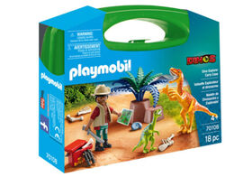 Playmobil - Valisette Explorateur et dinosaures