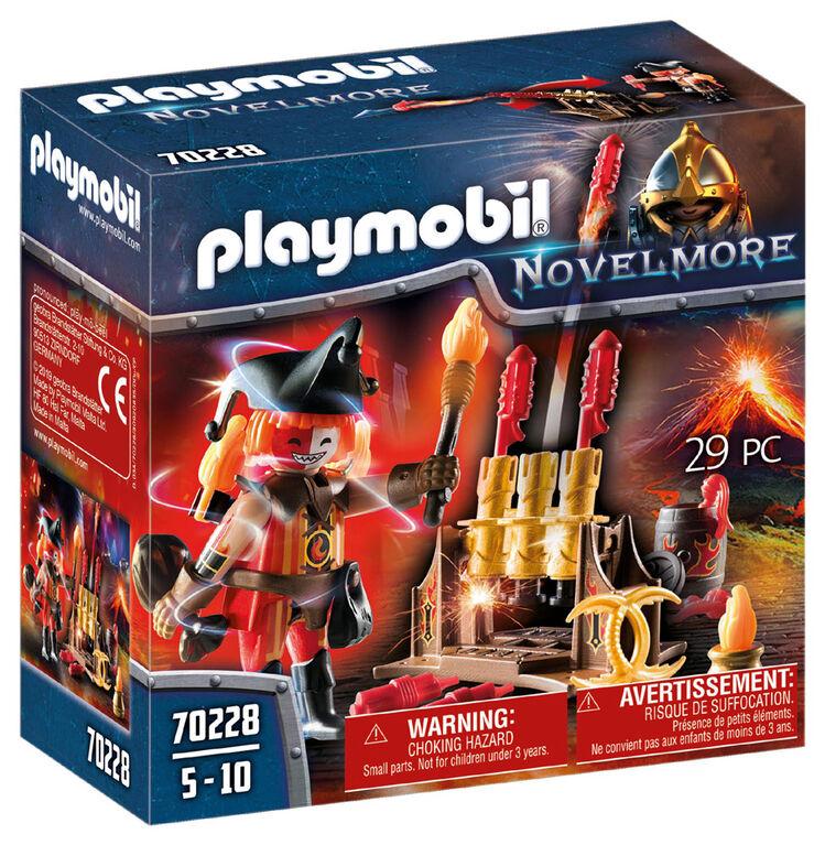 Burnham Raider Maître du Feu  - Playmobil