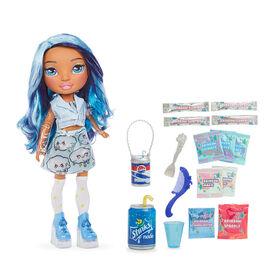 Rainbow High Rainbow Surprise 14-inch doll - Blue Skye Doll with DIY Slime Fashion