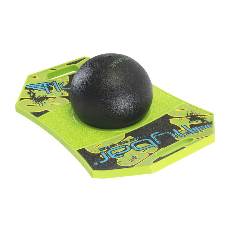 Flybar Trick Board with Pump for Ages 6 and Up (Green Mean)