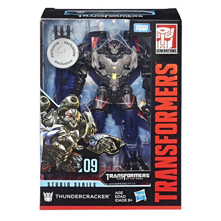 Transformers Studio Series 09 Voyager Class Dark of the Moon Thundercracker - R Exclusive