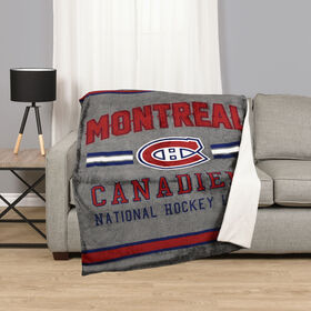 NHL Team Throw - Montreal Canadiens