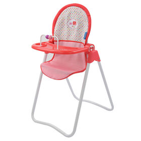 Chaise haute à Poupée Fine Bouche Little Mommy - R Exclusif