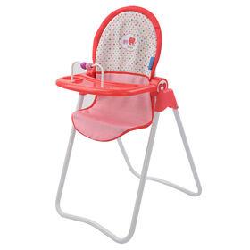Chaise haute à Poupée Fine Bouche Little Mommy - Notre exclusivité