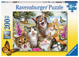 Ravensburger - Friendly Felines - 200PC Casse-Tête
