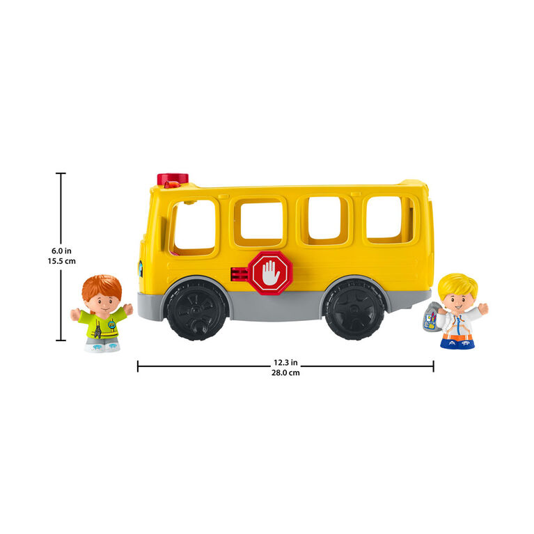 Fisher-Price Little People Sit with Me School Bus - French Edition