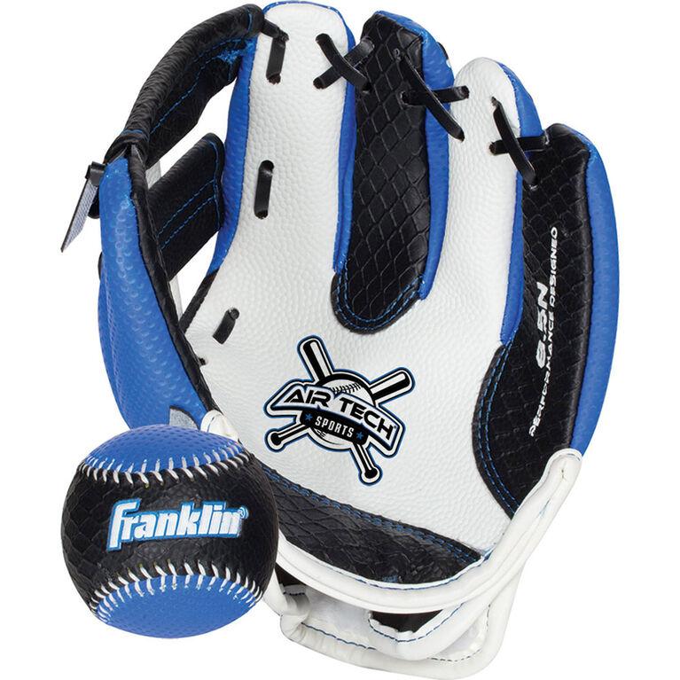 """85"""" Sport Air Tech Glove & Ball Set - Blue"""