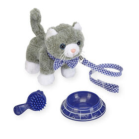 Journey Girls Playful Pet - Grey and White Cat