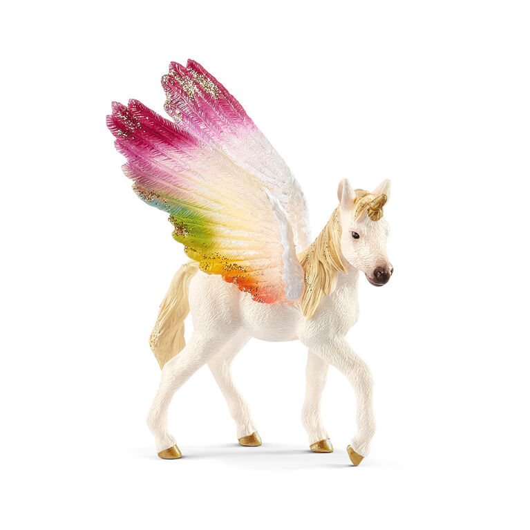 Bayala - Winged Rainbow Unicorn - Foal