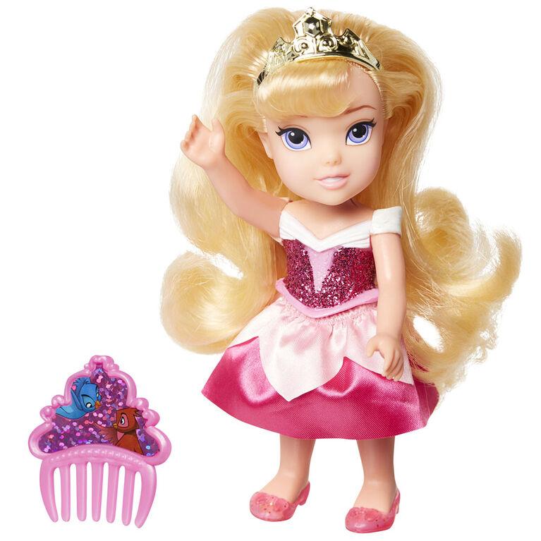 Petite Aurora with Glittered Hard Bodice + Comb