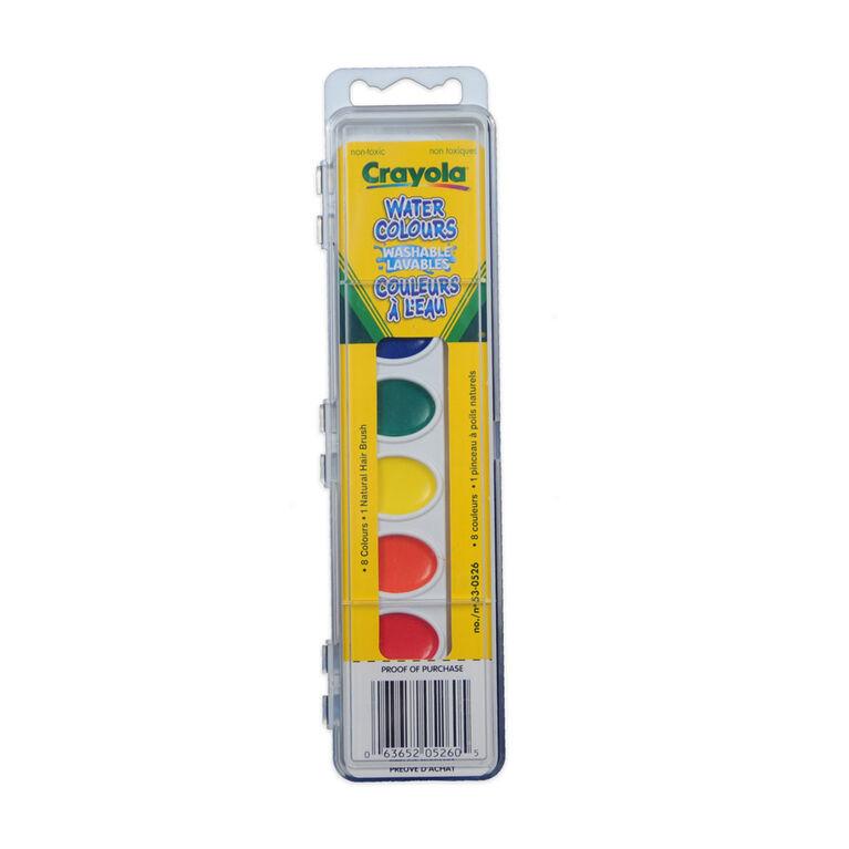 Crayola - Washable Kids' Paint Set, 8 ct