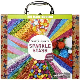 Smarts and Crafts Sparkle Stash