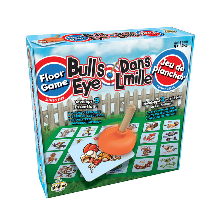 Bull's Eye - Floor Game - French Edition