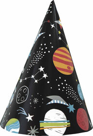 Outer Space Party Hats, 8 Hats