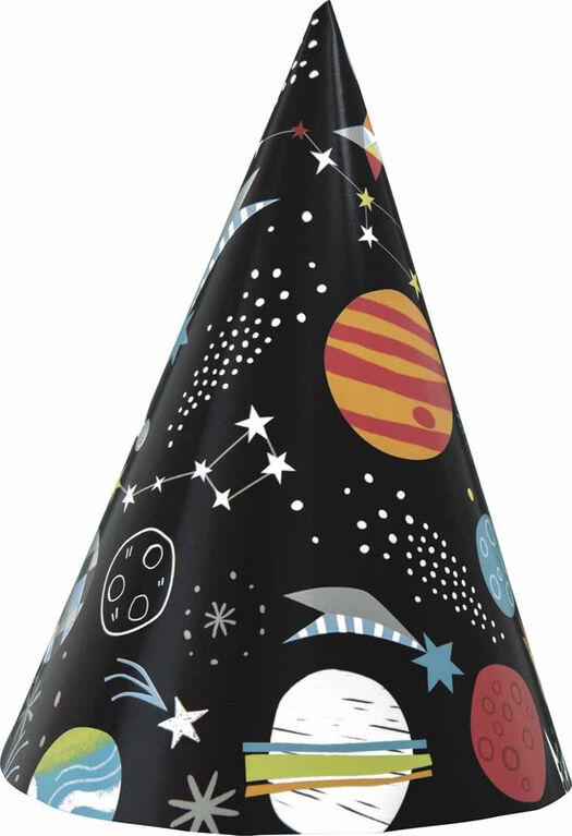 Outer Space Chapeaux de fête, 8un