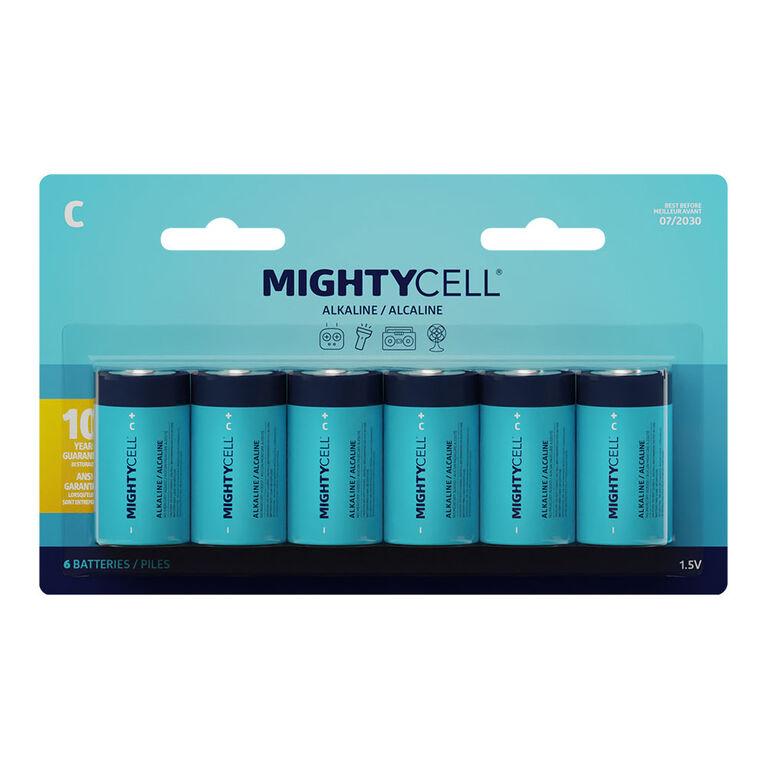 6 PK C Alkaline Battery