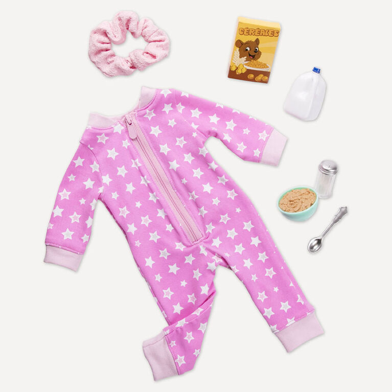 Our Generation, Onesies Funzies Pajama Outfit for 18-inch Dolls