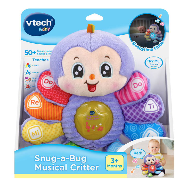 VTech Snug-a-Bug Musical Critter - English Edition